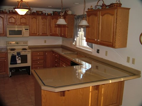 Wood Countertop Epoxy Flooring