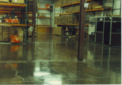 Epoxy.com Product #870 on a warehouse floor